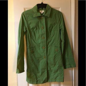 Ann Taylor Loft jacket size xs like new green